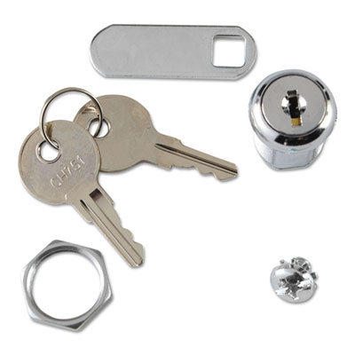 rubbermaid commercial replacement lock key for locking janitor cart cabinet salt lake city. Black Bedroom Furniture Sets. Home Design Ideas
